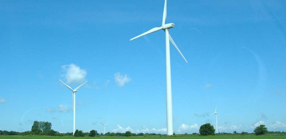 Windmills bring renewable energy